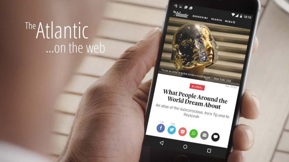 The Atlantic ได้นำ Instant Articles ไปใช้แล้ว